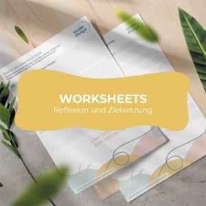 Worksheets Reflexion und Zielsetzung