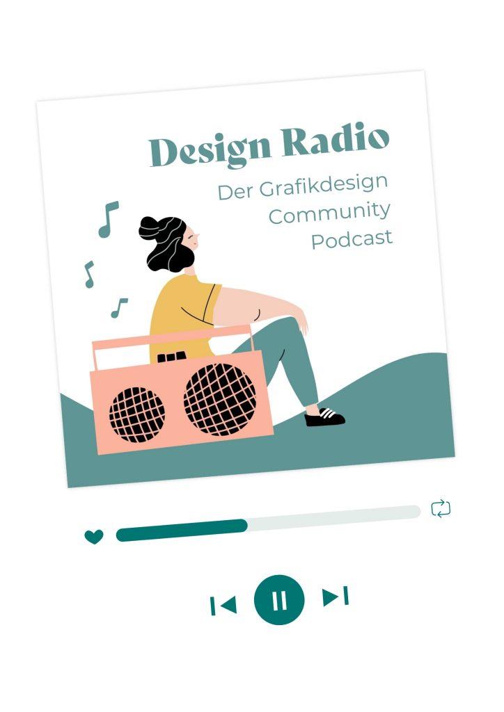 Podcast Cover Design Radio